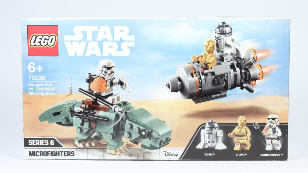 LEGO® Star Wars™ 75228 - Packung, Vorderseite | ©2019 Brickzeit