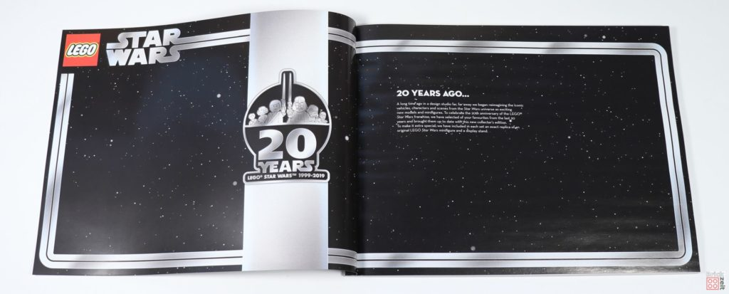 LEGO® Star Wars™ 75243 Slave I - Booklet, Seite 1 | ©2019 Brickzeit