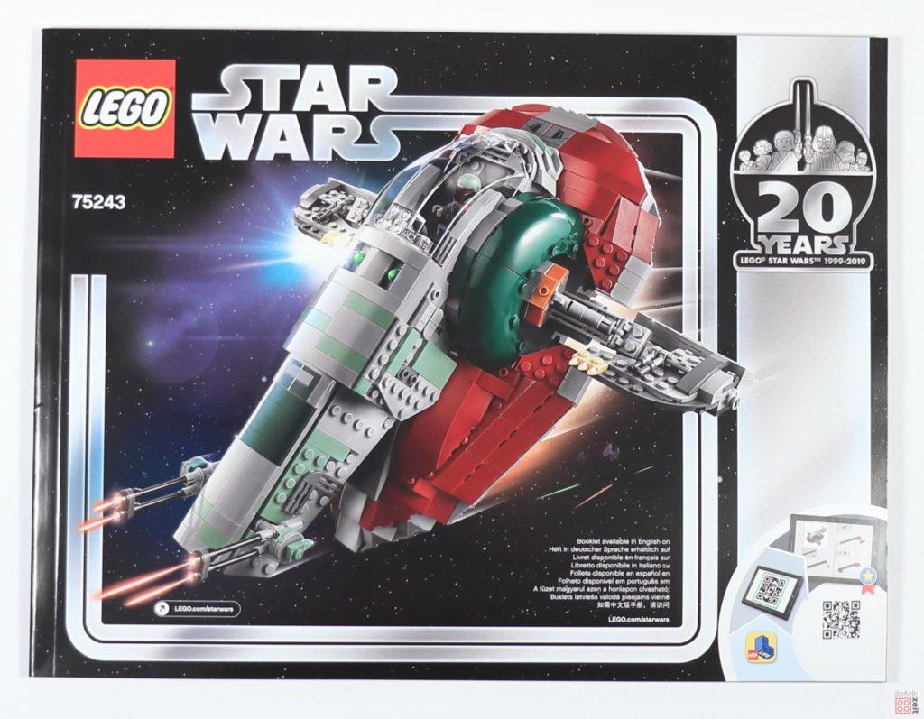LEGO® Star Wars™ 75243 Slave I - Anleitung | ©2019 Brickzeit