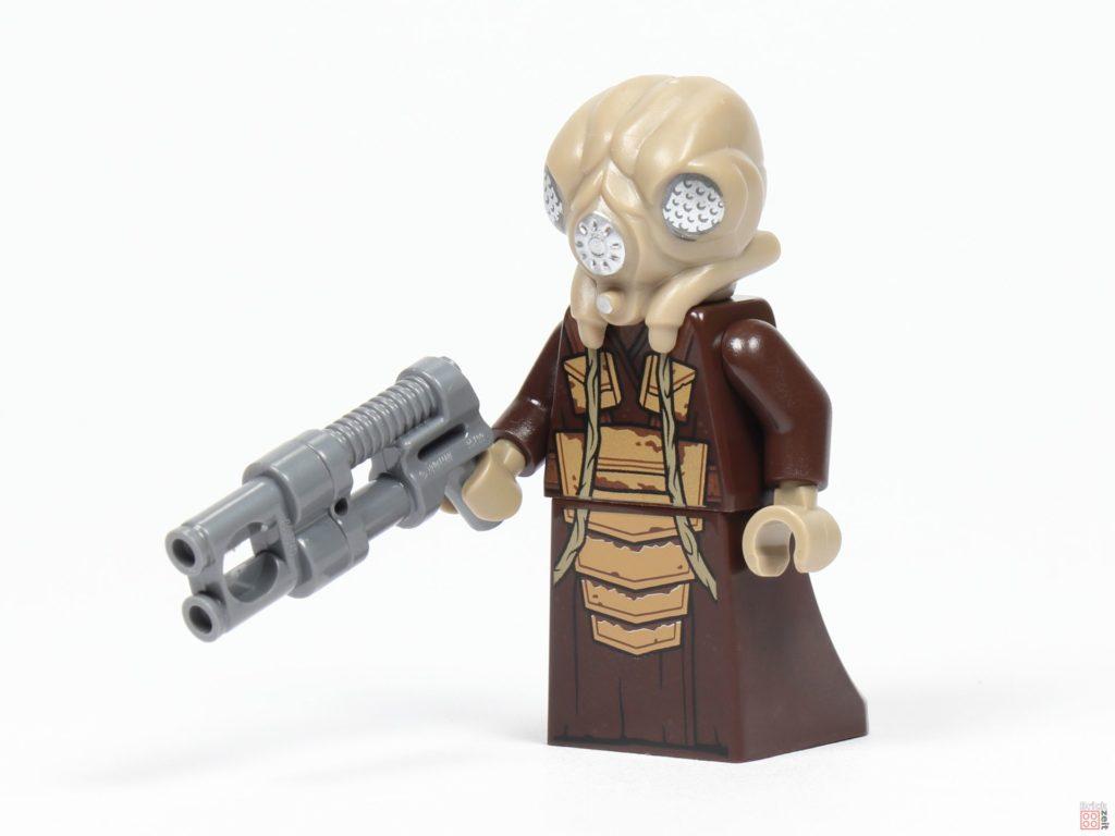 LEGO® Star Wars™ 75243 - Zuckuss mit Blaster, vorne | ©2019 Brickzeit