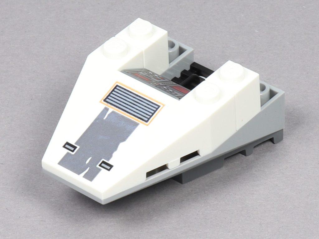 LEGO® Star Wars™ 75259 - Bauabschnitt 2 - Snowspeeder-Nase mit Aufkleber | ©2019 Brickzeit