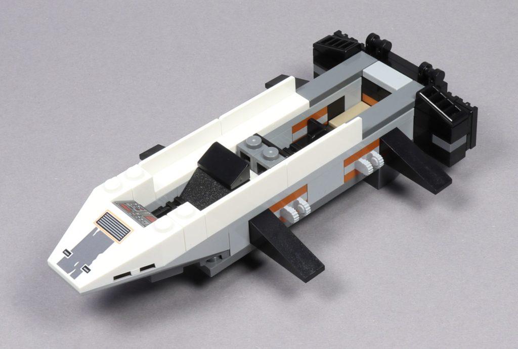 LEGO® Star Wars™ 75259 - Bauabschnitt 2 - Rumpf mit eingebauten Sitzen | ©2019 Brickzeit