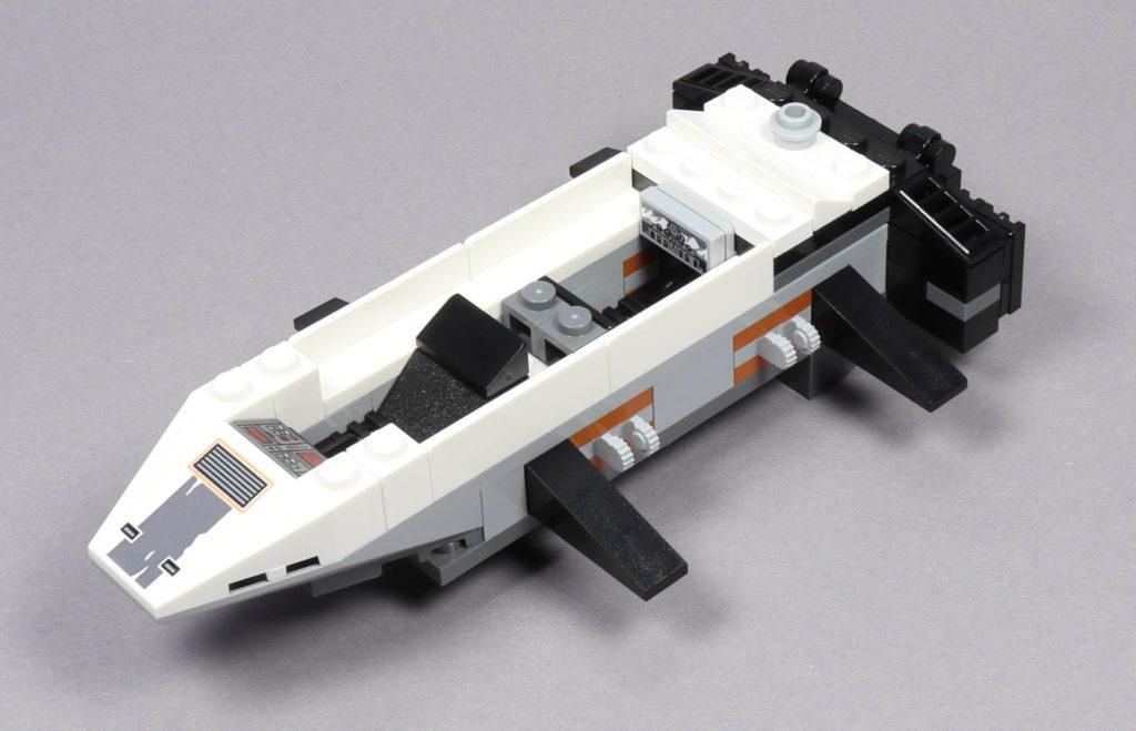 LEGO® Star Wars™ 75259 - Bauabschnitt 2 - Heckklappe befestigt | ©2019 Brickzeit