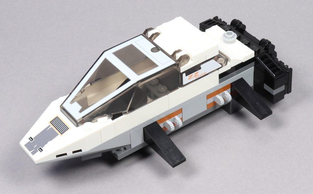 LEGO® Star Wars™ 75259 - Bauabschnitt 2 - fertig, vorne links | ©2019 Brickzeit