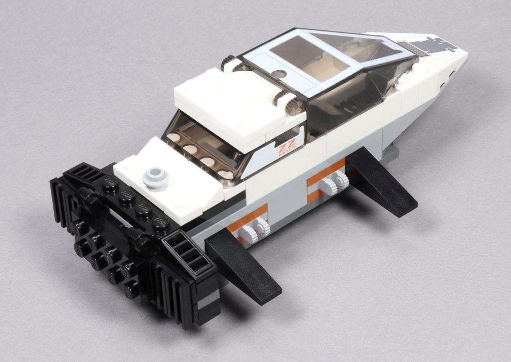 LEGO® Star Wars™ 75259 - Bauabschnitt 2 - fertig, hinten rechts | ©2019 Brickzeit