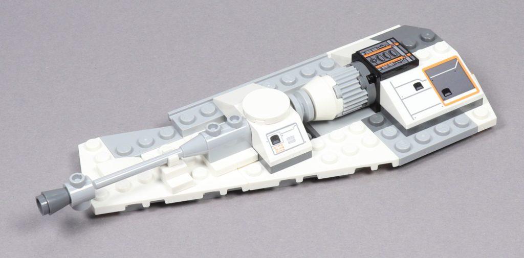 LEGO® Star Wars™ 75259 - Bauabschnitt 3 - linker Flügel, Oberseite vorne links | ©2019 Brickzeit