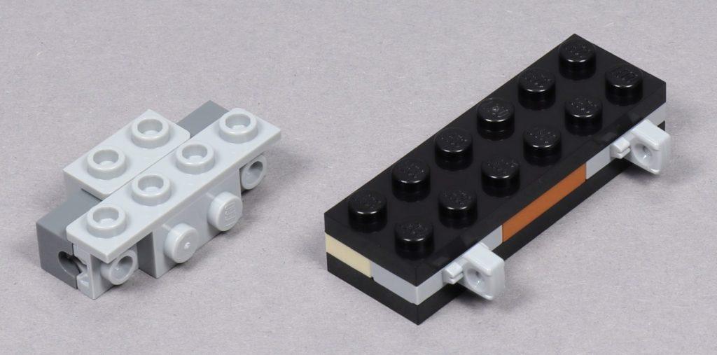 LEGO® Star Wars™ 75259 - Bauabschnitt 3 - linker Flügel, Shooter und Befestigung | ©2019 Brickzeit