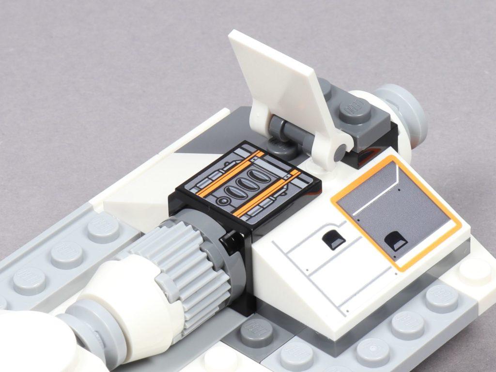 LEGO® Star Wars™ 75259 - Bauabschnitt 3 - linker Flügel, Höhenruder | ©2019 Brickzeit