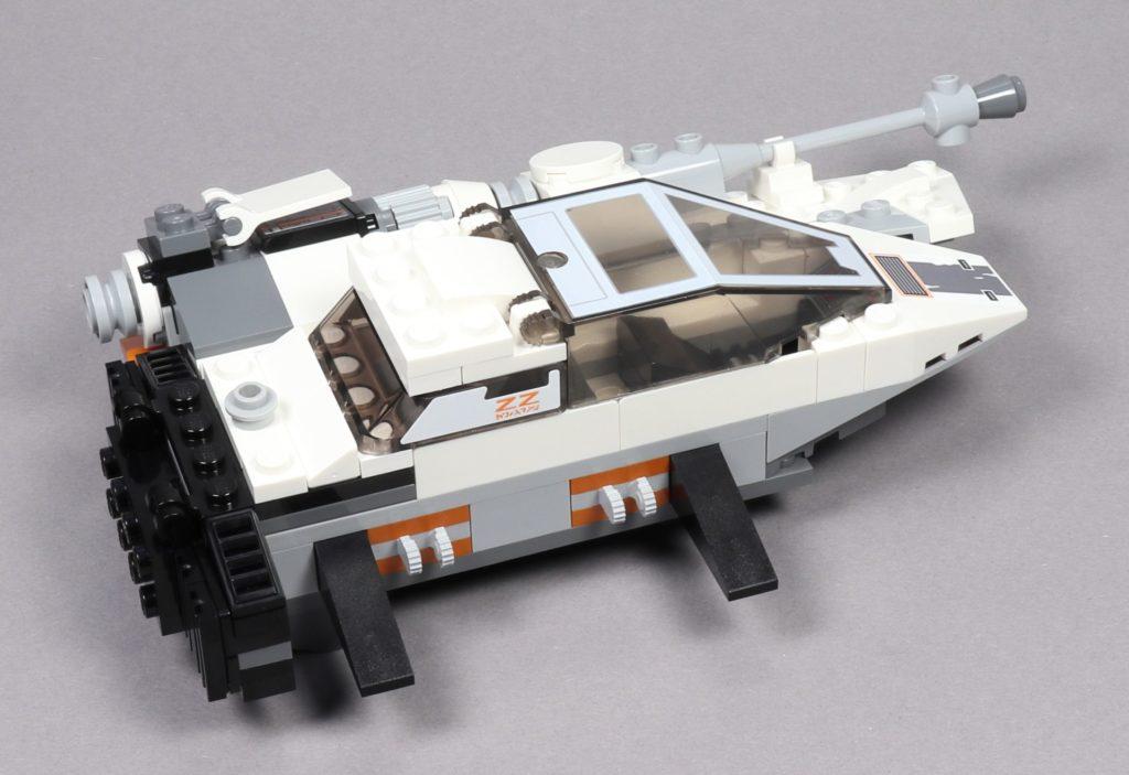 LEGO® Star Wars™ 75259 - Bauabschnitt 3 - linker Flügel am Snowspeeder | ©2019 Brickzeit