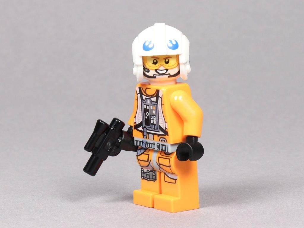 LEGO® Star Wars™ 75259 - Dak Ralter im Piloten-Outfit mit Blaster | ©2019 Brickzeit