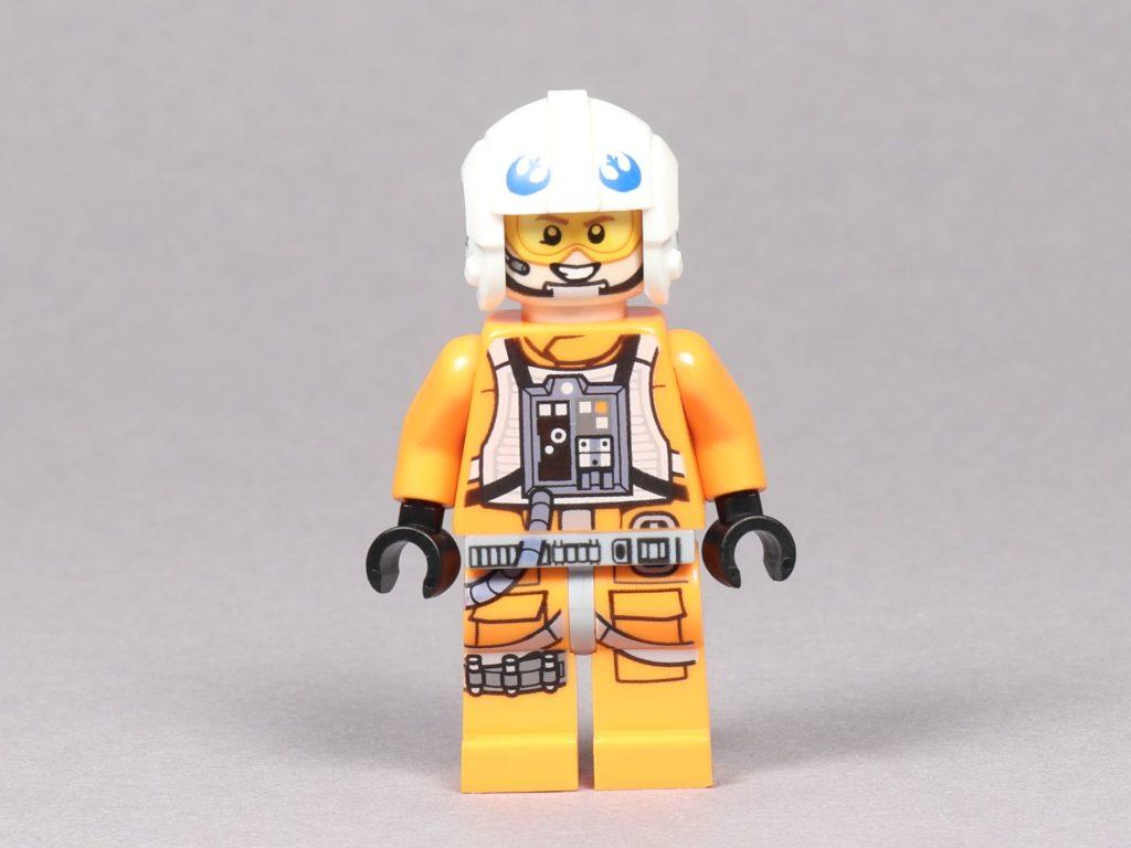 LEGO® Star Wars™ 75259 - Dak Ralter im Piloten-Outfit, Vorderseite | ©2019 Brickzeit