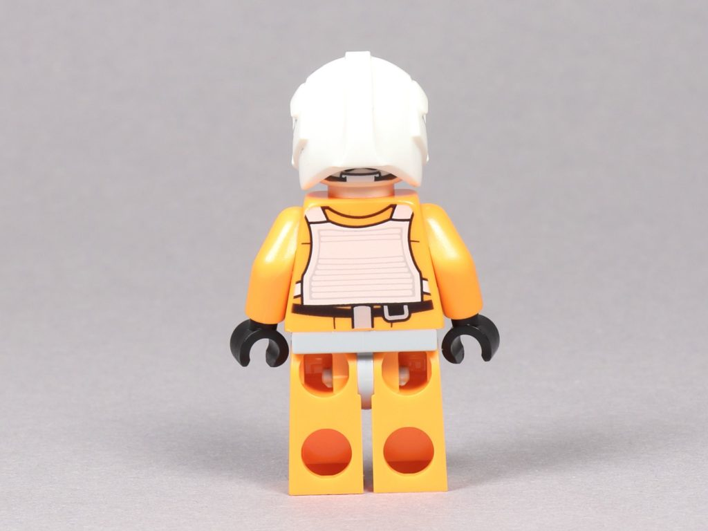 LEGO® Star Wars™ 75259 - Dak Ralter im Piloten-Outfit, Rückseite | ©2019 Brickzeit