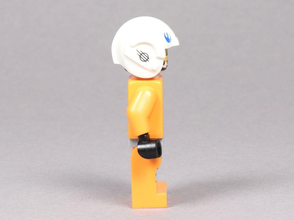 LEGO® Star Wars™ 75259 - Dak Ralter im Piloten-Outfit, rechte Seite | ©2019 Brickzeit