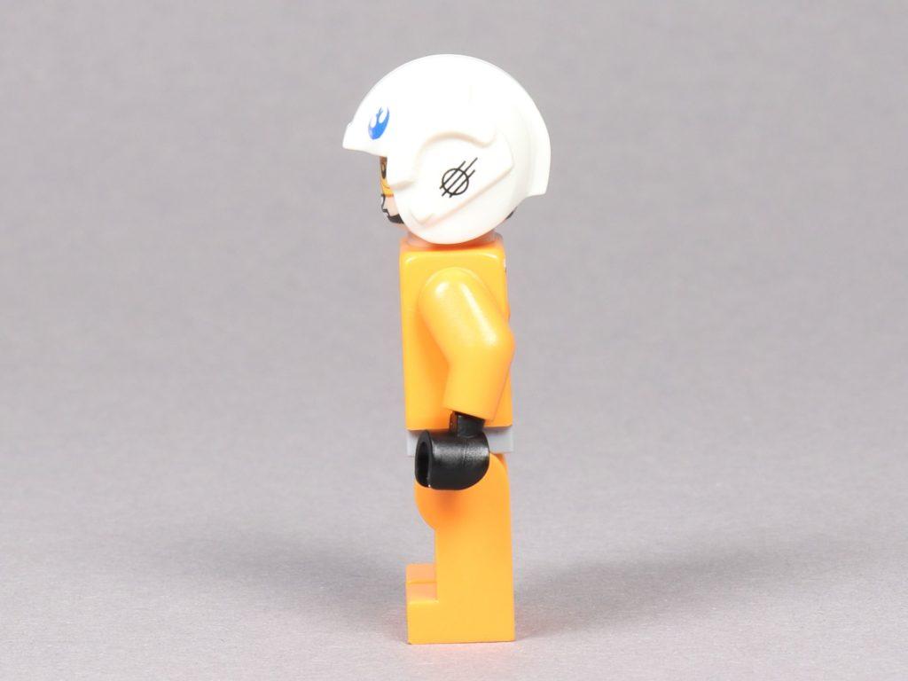 LEGO® Star Wars™ 75259 - Dak Ralter im Piloten-Outfit, linke Seite | ©2019 Brickzeit