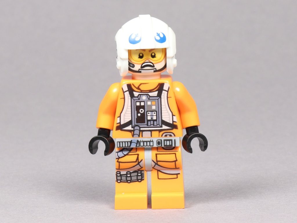 LEGO® Star Wars™ 75259 - Dak Ralter im Piloten-Outfit, Vorderseite alternatives Gesicht | ©2019 Brickzeit