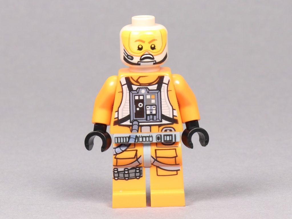 LEGO® Star Wars™ 75259 - Dak Ralter im Piloten-Outfit ohne Helm, Vorderseite | ©2019 Brickzeit