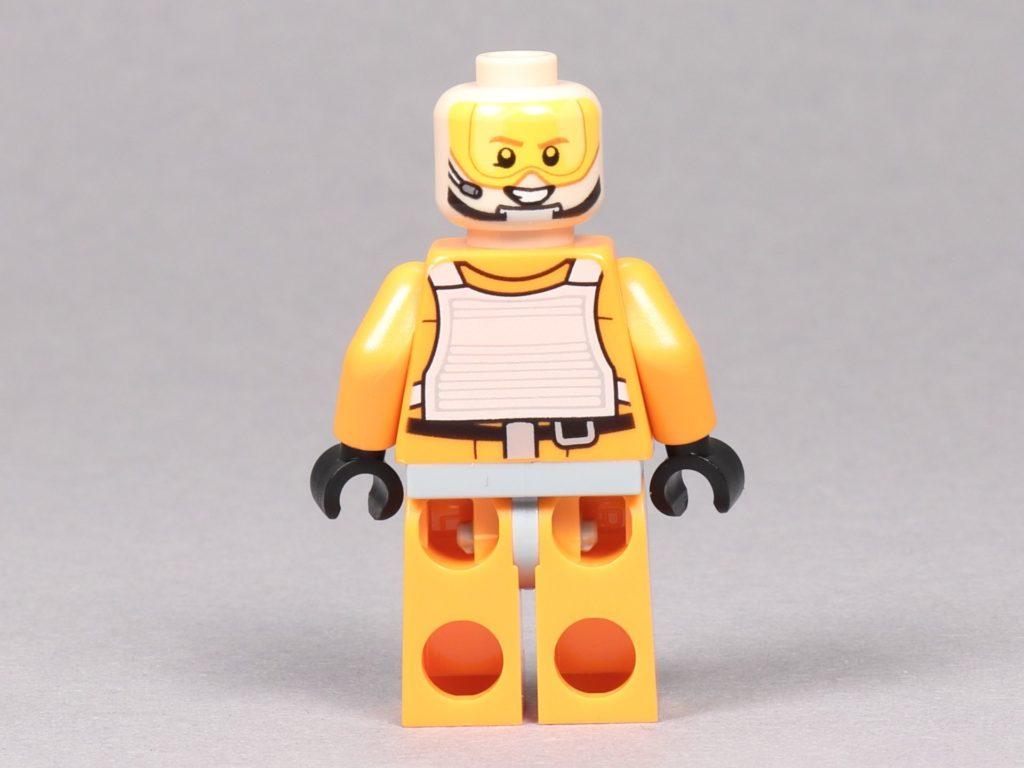LEGO® Star Wars™ 75259 - Dak Ralter im Piloten-Outfit ohne Helm, Rückseite | ©2019 Brickzeit