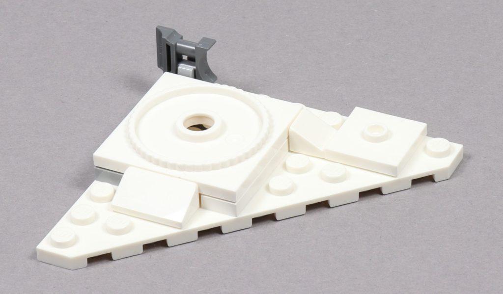 LEGO® Star Wars™ 75259 - Bauabschnitt 1, Geschützturm Plattform | ©2019 Brickzeit