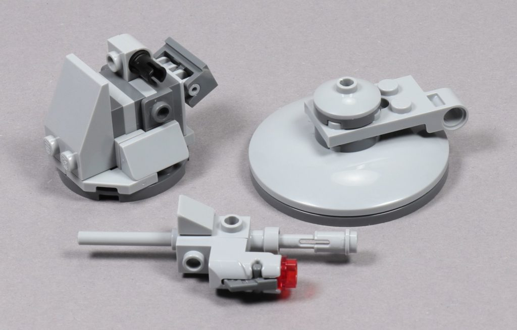 LEGO® Star Wars™ 75259 - Bauabschnitt 1, Baumodule | ©2019 Brickzeit