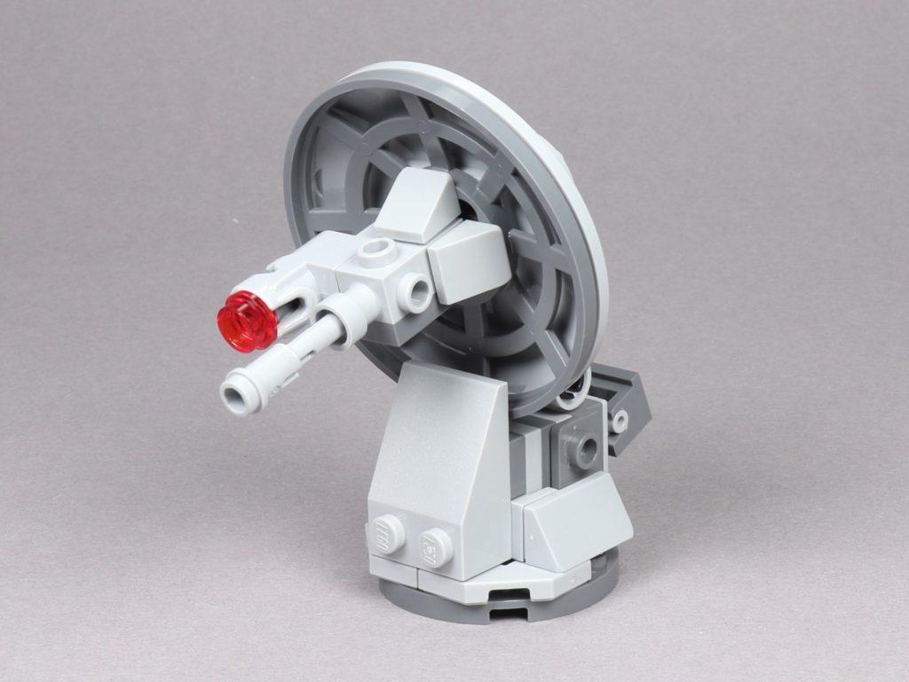 LEGO® Star Wars™ 75259 - Bauabschnitt 1, Geschützturm | ©2019 Brickzeit