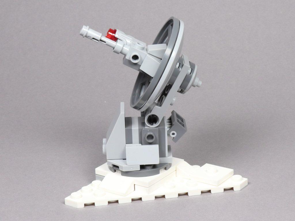 LEGO® Star Wars™ 75259 - Geschützturm gedreht und geneigt | ©2019 Brickzeit