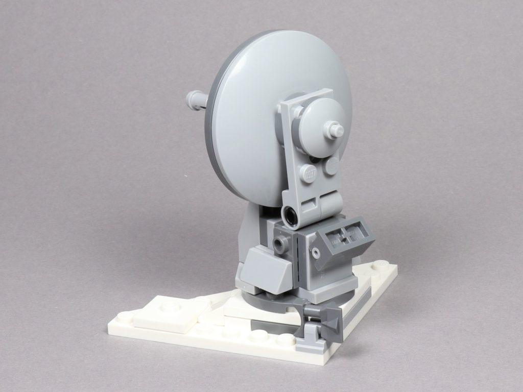LEGO® Star Wars™ 75259 - Geschützturm, Rückseite | ©2019 Brickzeit