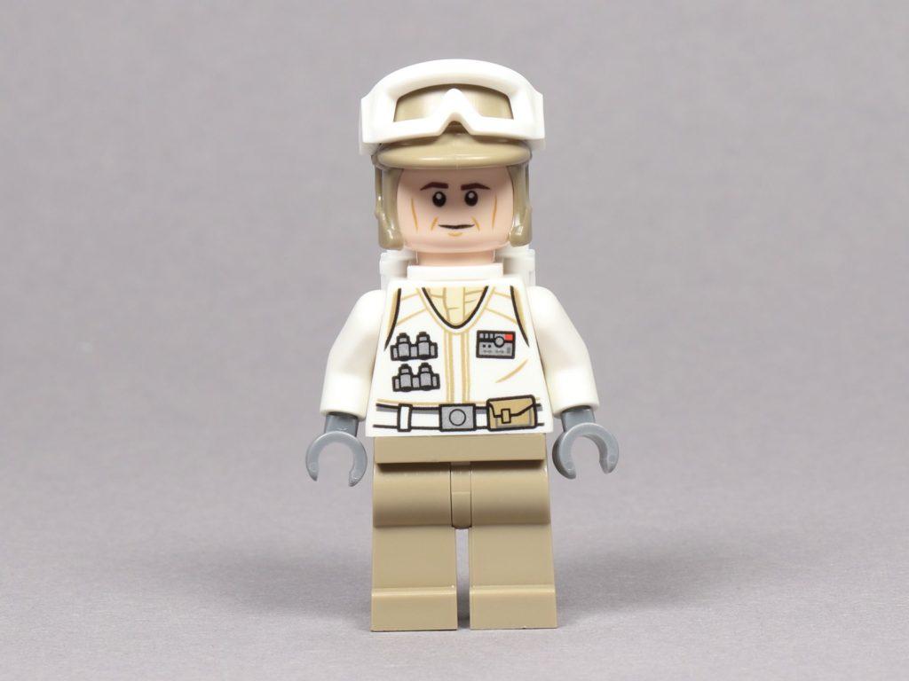 LEGO® Star Wars™ 75259 - Rebellen-Soldat im Hoth-Outfit, Vorderseite | ©2019 Brickzeit