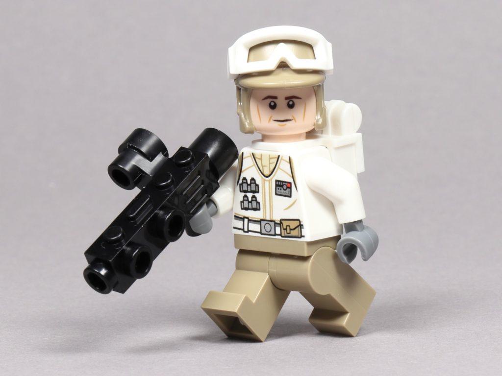 LEGO® Star Wars™ 75259 - Rebellen-Soldat im Hoth-Outfit mit Blaster | ©2019 Brickzeit