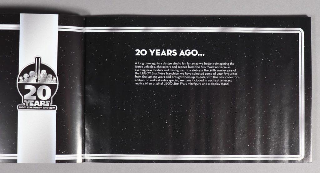 LEGO® Star Wars™ 75259 - Booklet, erste Seite | ©2019 Brickzeit