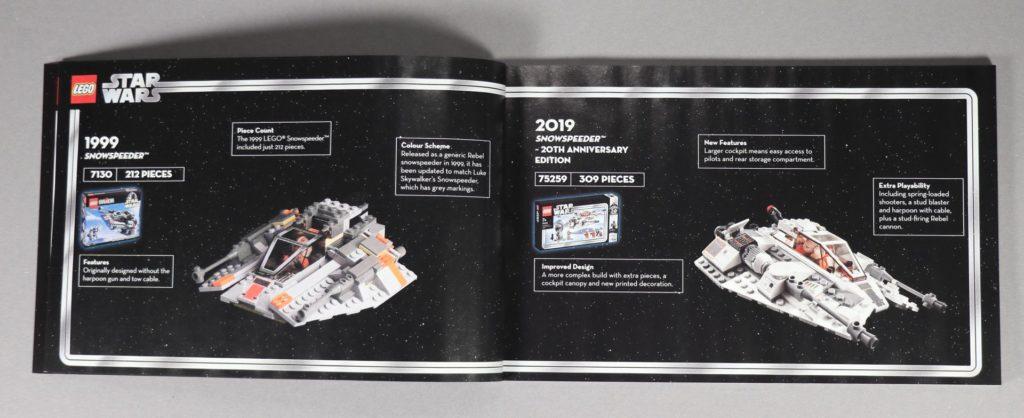 LEGO® Star Wars™ 75259 - Booklet, zweite Seite | ©2019 Brickzeit