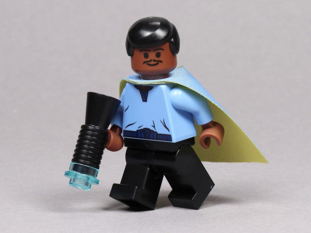 LEGO® Star Wars™ 75259 - Jubiläumsminifigur, Lando Calrissian mit Blaster | ©2019 Brickzeit