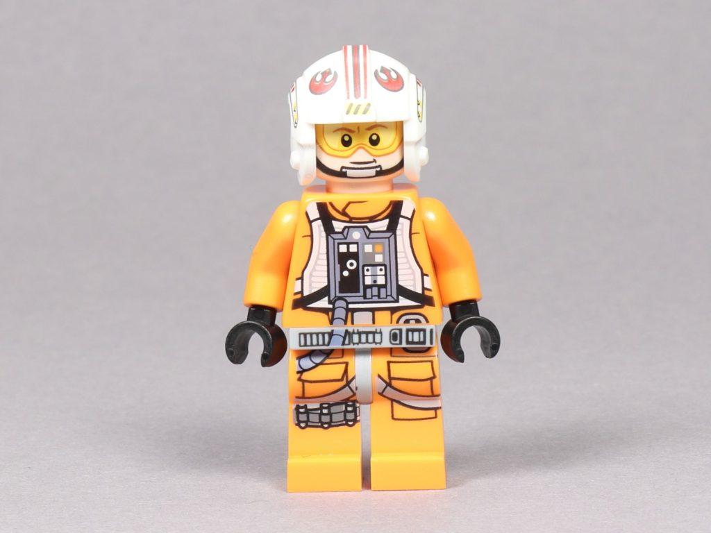 LEGO® Star Wars™ 75259 - Luke Skywalker im Piloten-Outfit, Vorderseite | ©2019 Brickzeit