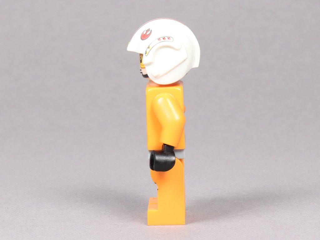LEGO® Star Wars™ 75259 - Luke Skywalker im Piloten-Outfit, linke Seite | ©2019 Brickzeit