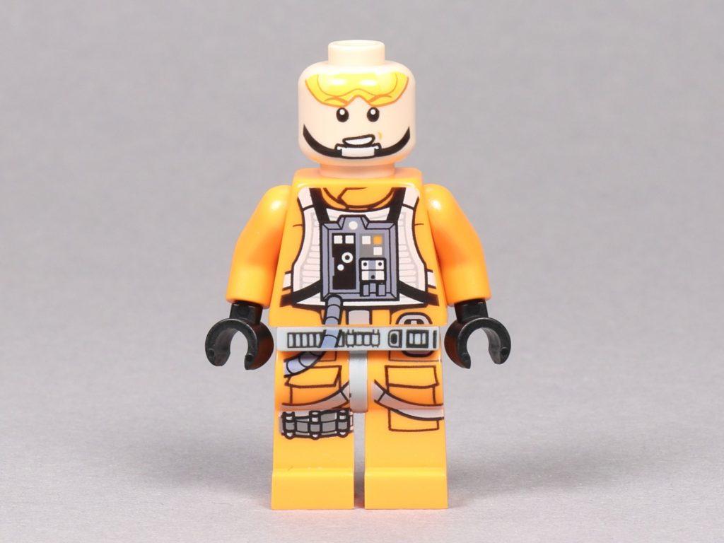 LEGO® Star Wars™ 75259 - Luke Skywalker im Piloten-Outfit ohne Helm, Vorderseite | ©2019 Brickzeit
