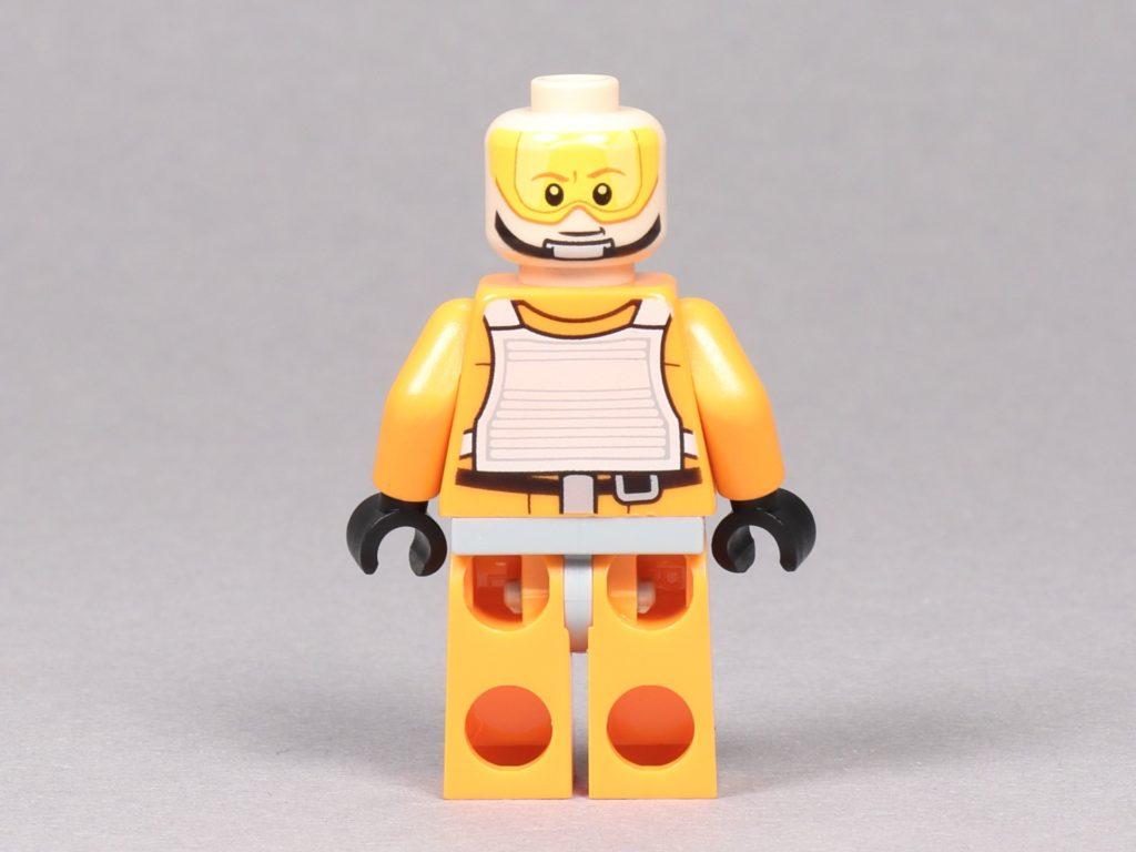 LEGO® Star Wars™ 75259 - Luke Skywalker im Piloten-Outfit ohne Helm, Rückseite | ©2019 Brickzeit
