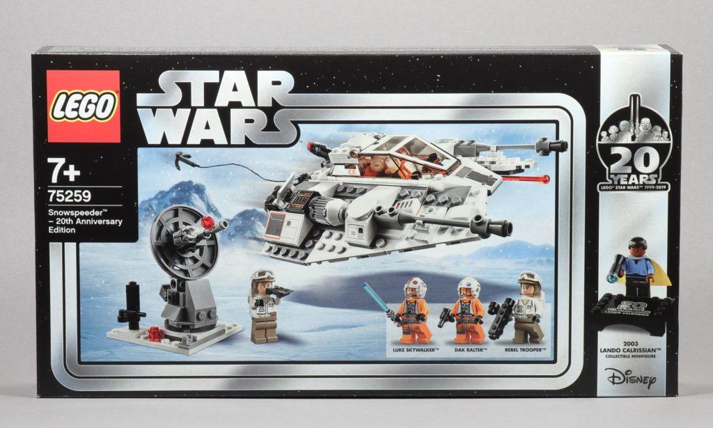 LEGO® Star Wars™ 75259 - Packung Vorderseite | ©2019 Brickzeit