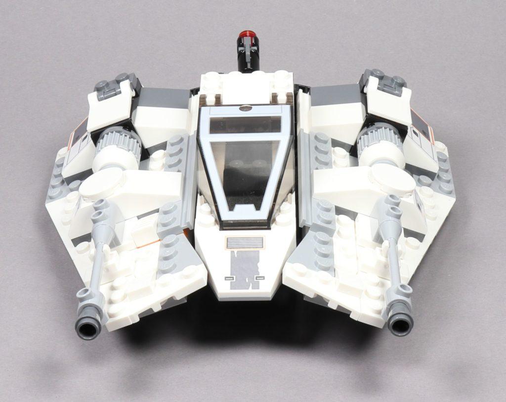 LEGO® Star Wars™ 75259 Snowspeeder™ - Vorderseite | ©2019 Brickzeit