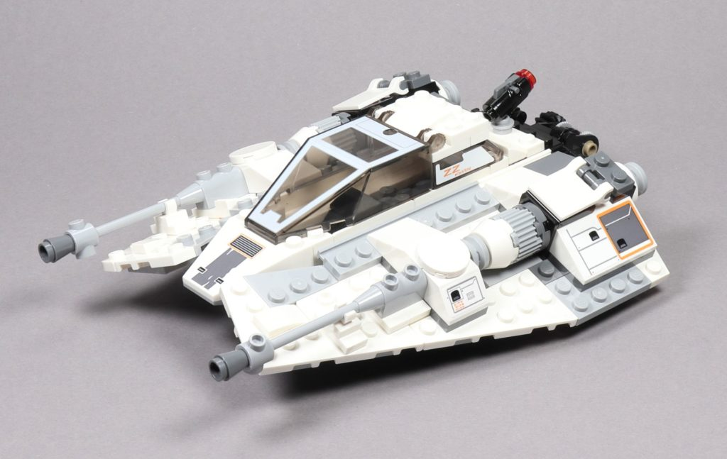 LEGO® Star Wars™ 75259 Snowspeeder™ - vorne links | ©2019 Brickzeit