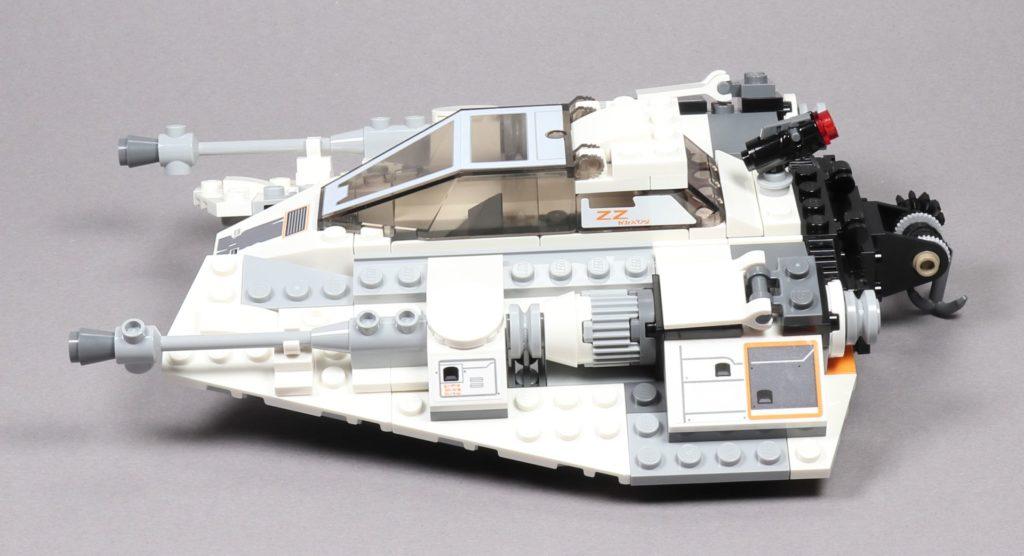 LEGO® Star Wars™ 75259 Snowspeeder™ - linke Seite | ©2019 Brickzeit