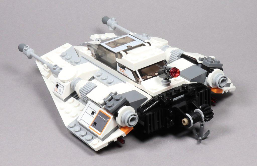 LEGO® Star Wars™ 75259 Snowspeeder™ - hinten links | ©2019 Brickzeit