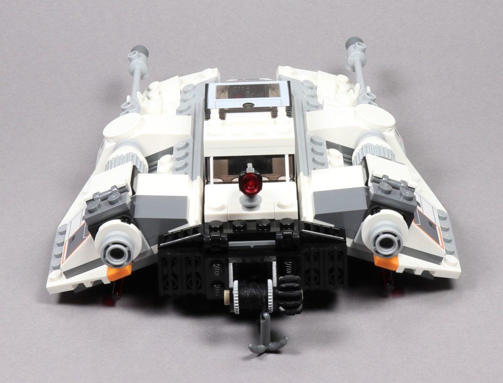 LEGO® Star Wars™ 75259 Snowspeeder™ - Rückseite | ©2019 Brickzeit