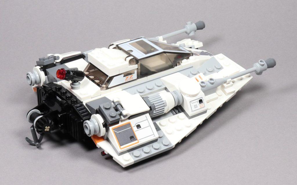 LEGO® Star Wars™ 75259 Snowspeeder™ - hinten rechts | ©2019 Brickzeit
