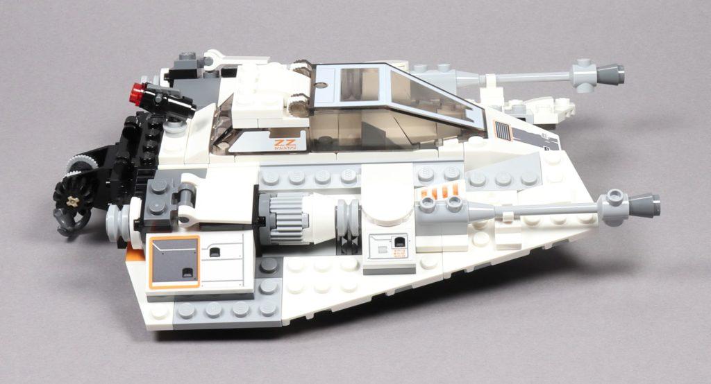 LEGO® Star Wars™ 75259 Snowspeeder™ - rechte Seite | ©2019 Brickzeit