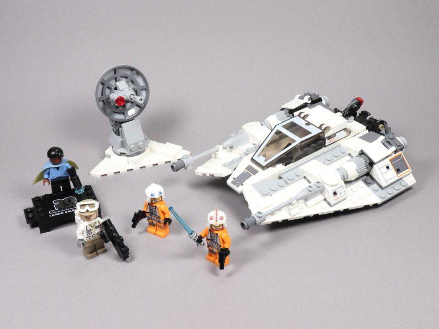 LEGO® Star Wars™ 75259 Snowspeeder™ - 20 Jahre LEGO® Star Wars™ - Titelbild | ©2019 Brickzeit