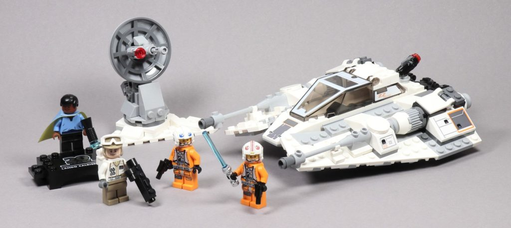 LEGO® Star Wars™ 75259 Snowspeeder™ - 20 Jahre LEGO® Star Wars™ | ©2019 Brickzeit
