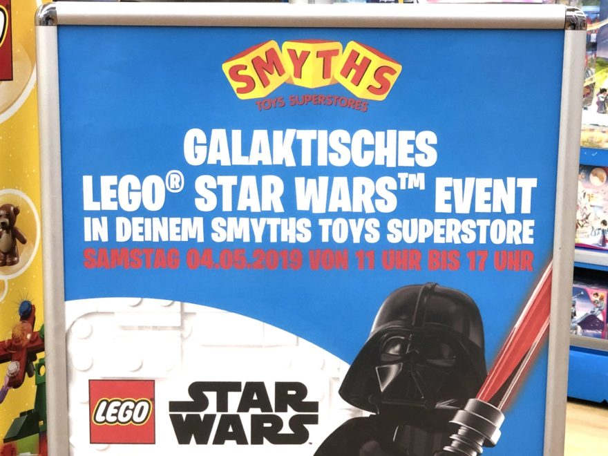 LEGO® Star Wars™ May The 4th 2019 Event bei Smyths Toys