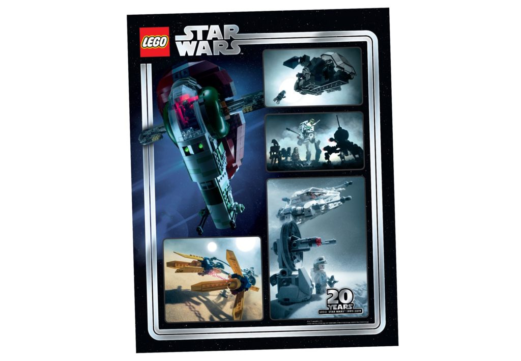 20 Jahre LEGO Star Wars Sammelposter (5005887)   ©LEGO Gruppe
