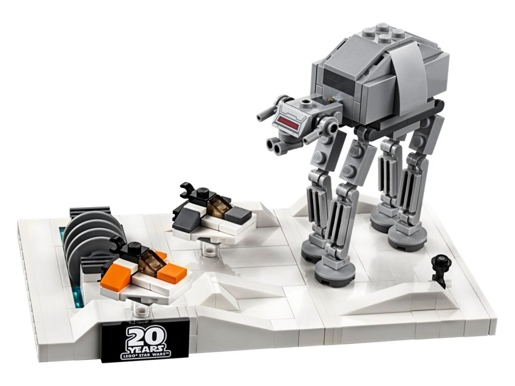 LEGO® Star Wars™ 40333 Schlacht um Hoth - 20. Jubiläums-Edition - Set | ©LEGO Gruppe