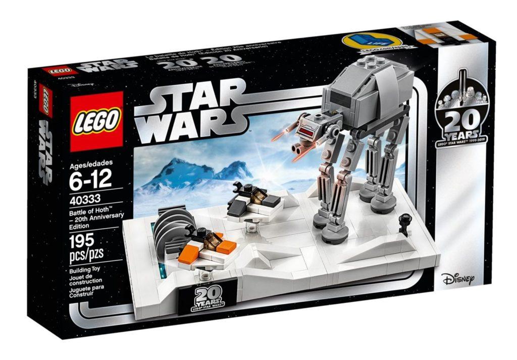 LEGO® Star Wars™ 40333 Schlacht um Hoth - 20. Jubiläums-Edition - Gratisbeigabe   ©LEGO Gruppe