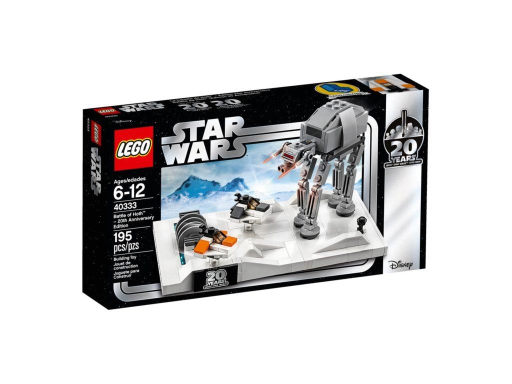 LEGO® Star Wars™ 40333 Schlacht um Hoth - 20. Jubiläums-Edition - Packung Vorderseite | ©LEGO Gruppe